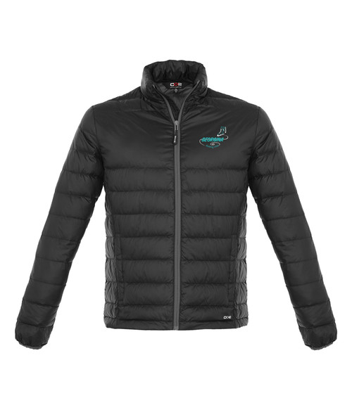 Georgina Skating Club Adult Quilted Down Jacket