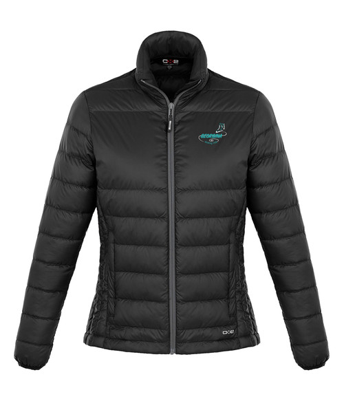 Georgina Skating Club Womens Quilted Down Jacket