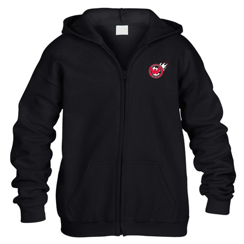 Woodland Wildfire Youth Full-Zip Hoodie