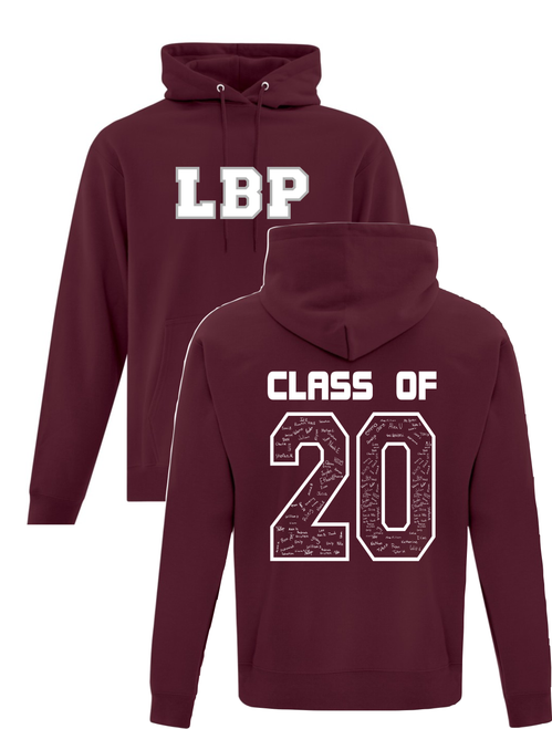 Lester B. Pearson Youth Heavy Blend Graduation Hoody