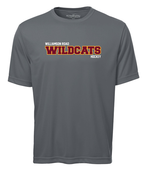 Williamson Road Wildcats Adult Wildcats Sport Logo Short Sleeve Tee