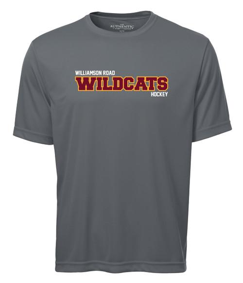 Williamson Road Wildcats Adult Wildcats Sport Logo Short Sleeve Tee