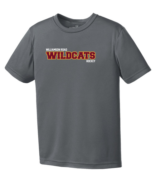 Williamson Wildcats Youth Sport Logo Short Sleeve Tee