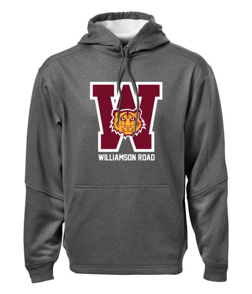 Williamson Wildcats Adult Big W Logo Hoody