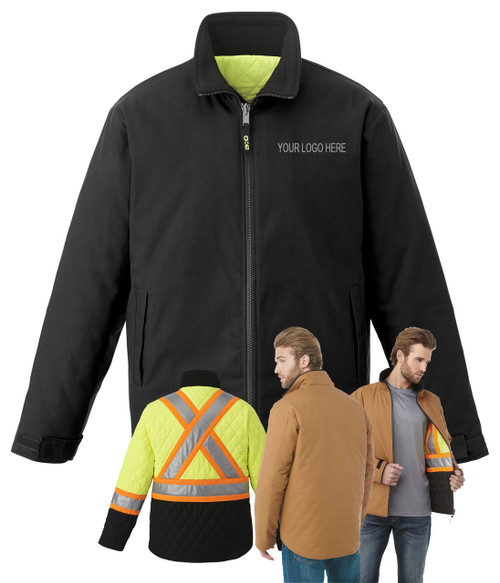 NRG Work Site Reversible Work Jacket