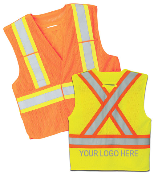 NRG Work Site High Vis Vest