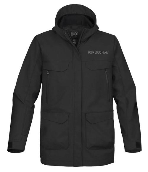 NRG Work Site Men's Storm Coat - BLACK