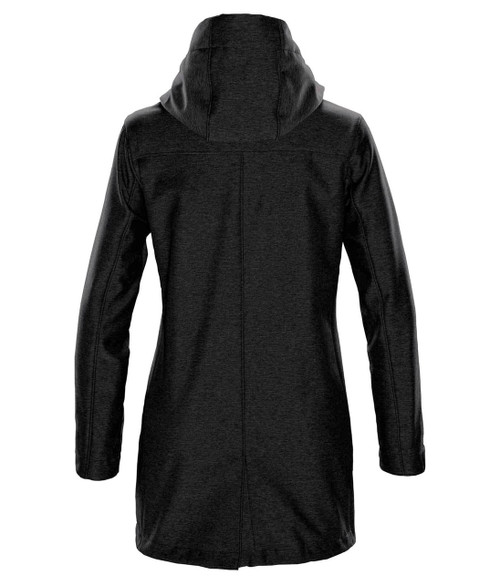 NRG Work Site Women's Storm Coat - BLACK