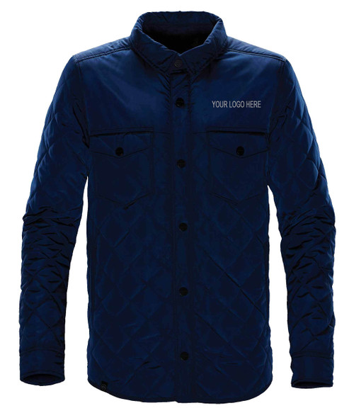 NRG Work Site Men's Cold Weather Coat - NAVY