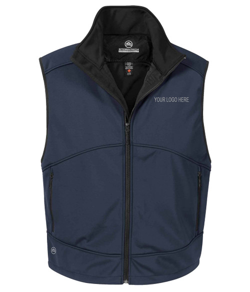 NRG Work Site Men's Work Vest - NAVY
