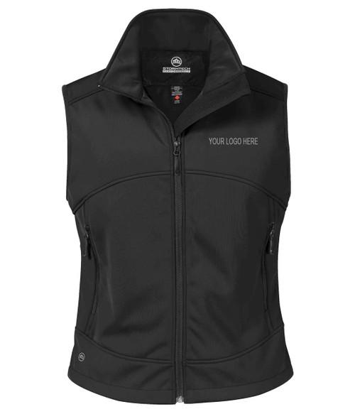 NRG Work Site Women's Work Vest - BLACK