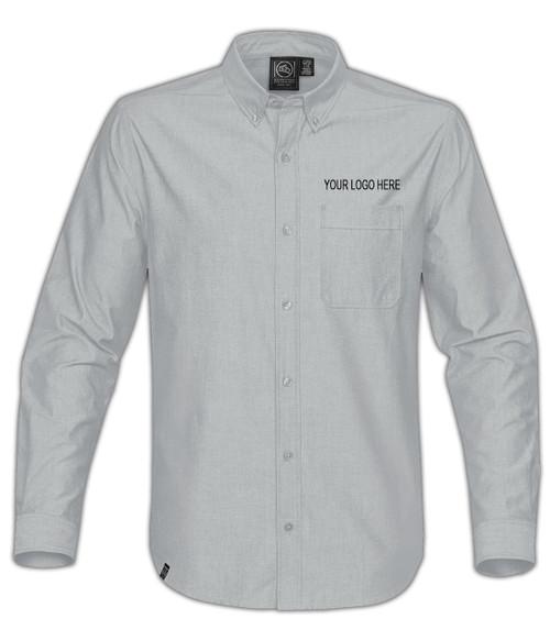 NRG Work Site Men's Dress Shirt - COOL SILVER