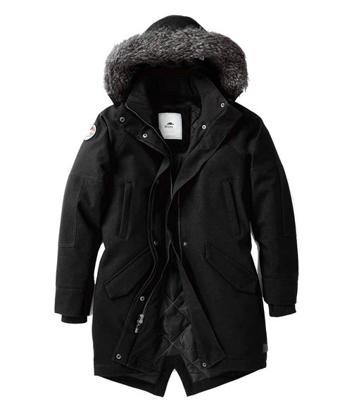 Seasonal Shop's Women's BRIDGEWATER ROOTS73 Insulated Jacket - Black