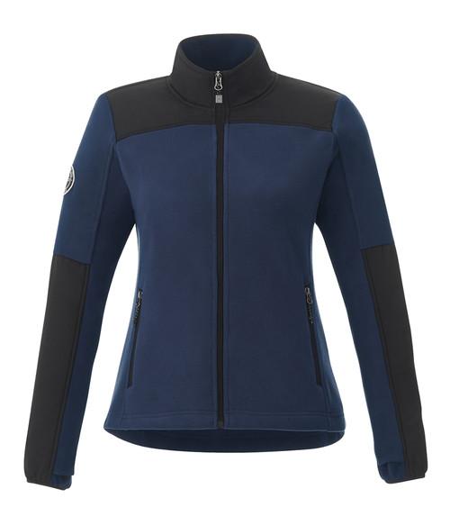 Seasonal Shop's Women's BRIGGSPOINT ROOTS73 Micro Fleece Jacket - Atlantic Navy & Black
