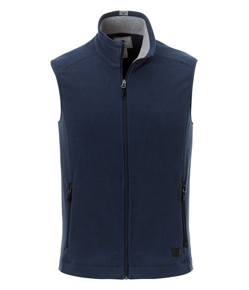 Seasonal Shop's Men's WILLOWBEACH ROOTS73 Micro Fleece Vest - Atlantic Navy