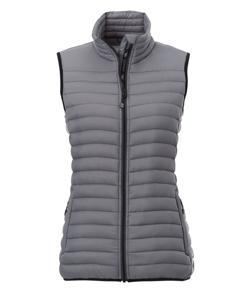 Seasonal Shop's Women's EAGLECOVE ROOTS73 Down Vest - Quarry