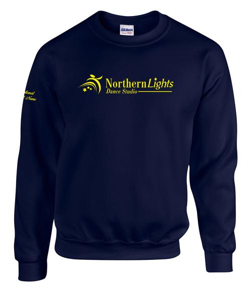 Northern Lights Dance Studio Adult Heavy Blend Crewneck Sweater