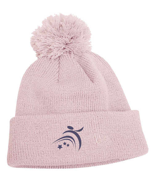 Northern Lights Dance Studio New Era Pom Toque - Pink