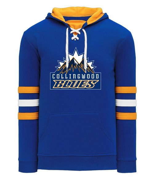 Collingwood Blues Adult Game Jersey Hoody