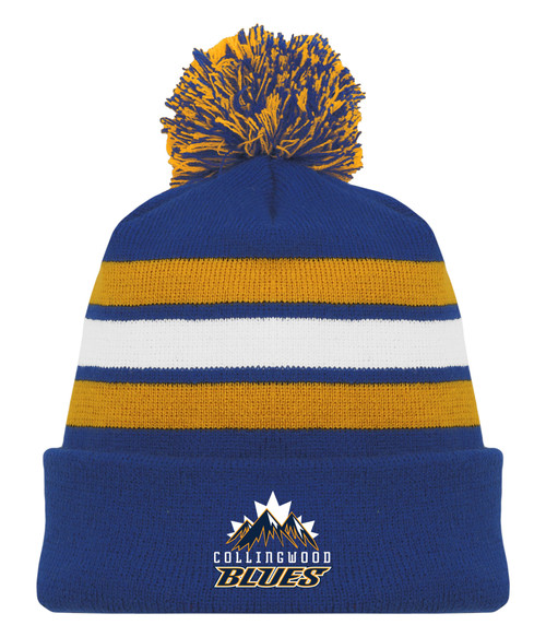 Collingwood Blues Alt Pom Beanie