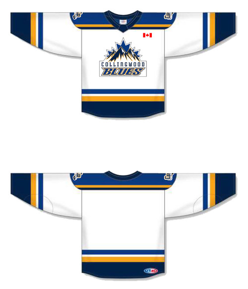Collingwood Blues Generic Hockey Jersey