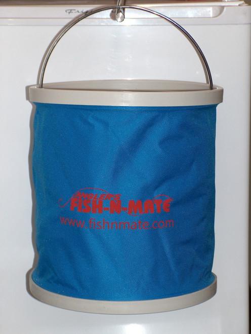 Blue Folding Bucket