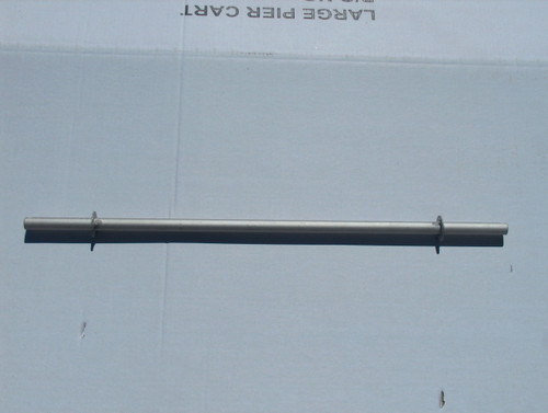 """AX-10    30.5"""" Axle for newer model 143 and 433 cart"""