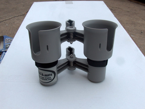 Grey Twin Cup Holder