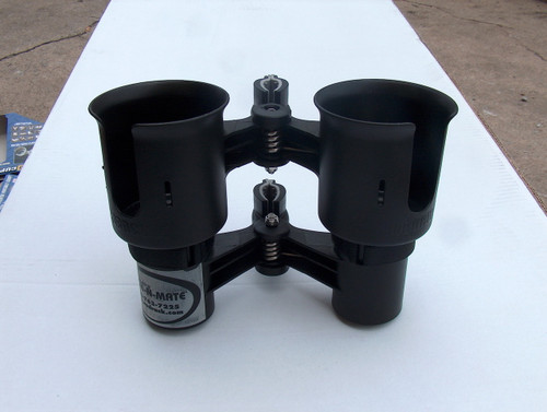 Black Twin Cup Holders