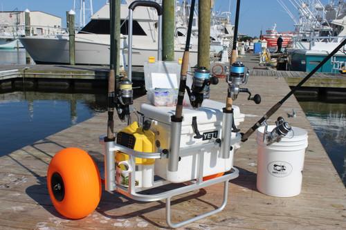 Fishing Trolly (Poly Wheels)