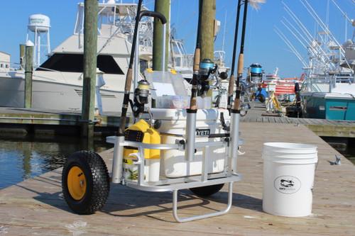 Fishing Trolly (Pier Tires)