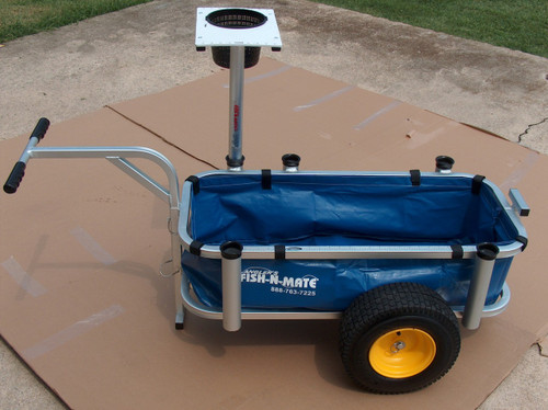 JR. CART LINER . VINYL MATERIAL WITH VELCRO CLOSURES FOR EASE OF ATTACHING AND REMOVING THE LINER. ALLOWS YOU HAUL SMALLER ITEMS THAT WOULD FALL THOUGH THE FRAME ON THE CART.