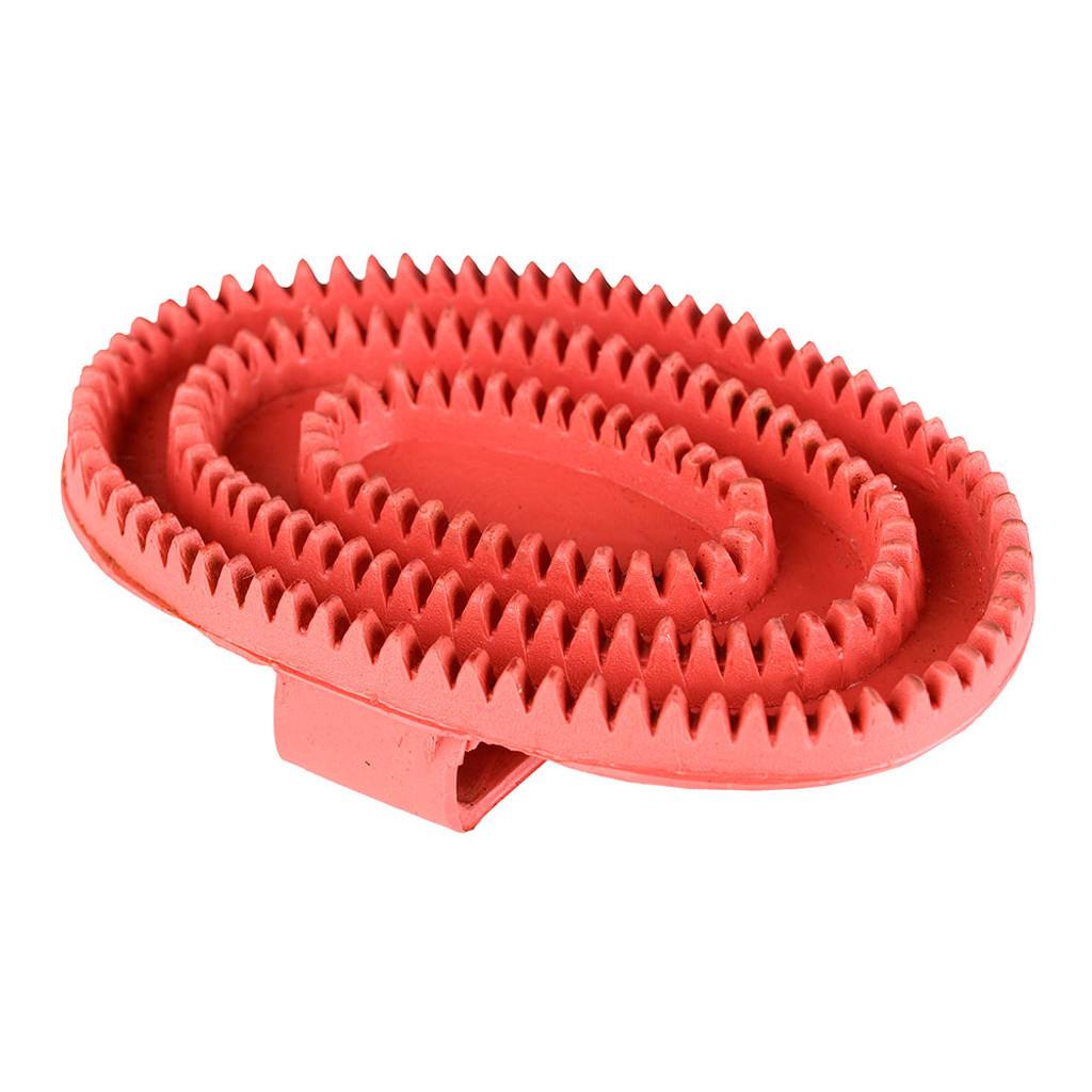 Basic Rubber Curry Comb - Small