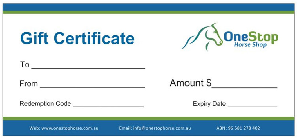 Gift Certificate - $30.00