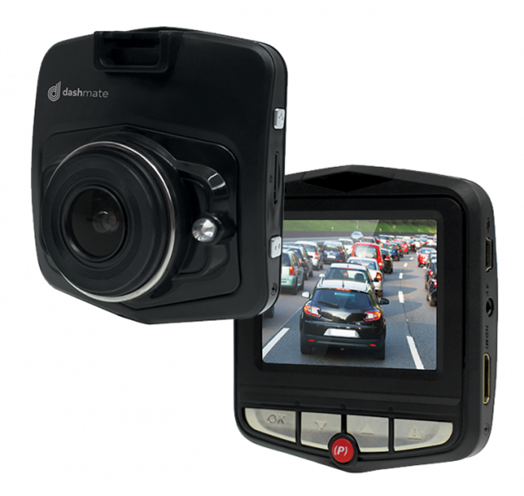 "DASHMATE HD DASH CAMERA WITH MOTION DETECTION & 2.3"" LCD SCREEN"