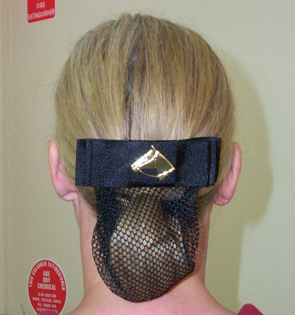 Horse Head Show Bow & Hair Net