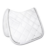 Waldhausen Competition AP Saddle Pad - White W/Bling