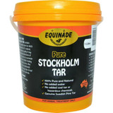 100% pure Swedish pine tar. For treatment of corns, split hooves, cracks and minor kin or hoof infections. A natural antiseptic to help heal skin wounds and hoof diseases, such as thrush. Non-toxic and does not contain water, petroleum based chemicals or carcinogenic creosote The natural antiseptic action helps to combat bacterial infections of the hoof and skin, including thrush Assists in the treatment of split hooves, split heels, cracks and corns. Promtoes a flexible and elastic hoof