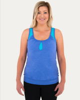 Noble Outfitters Katie Double-Up Tank Tee Shirt