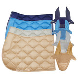 Huntington Satin Saddle Pad & Bonnet Set