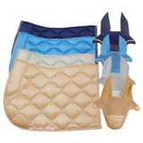 Huntington Satin Saddle Pad & Bonnet Set