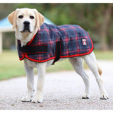 Happy Hound 1200D Dog Coat Red/Black check