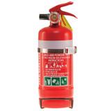MegaFire 1.0kg Fire Extinguisher - 1A:20B:E Rating