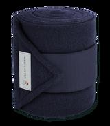 Waldhausen Fleece Bandages - Navy 4pk