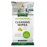 Oakwood Anti-Bacterial Wipes - 50 Pack