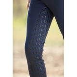 Huntington Childs Pull-On w/ Gel Stretch Breeches - Navy/Pink