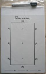 'Learn a Test' Dressage Whiteboard