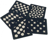 Quarter Markers - Honeycomb / Hexagon