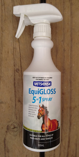 Vetsense Equi-Gloss 5 in 1 Spray 500ml