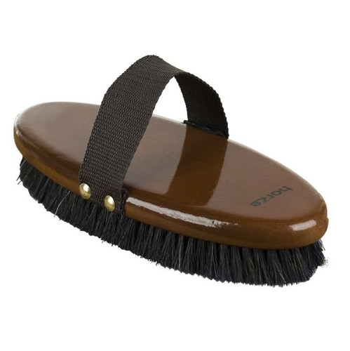 Horze Natural Body Brush Large (Wood Backed)